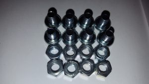 A set of M5 nuts and bolts for use as Solenoid Engine Flywheel Weights