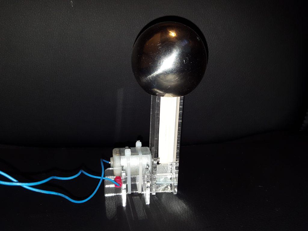 Mini Van De Graaff Generator Kit - 40 000v Of Sparky Fun