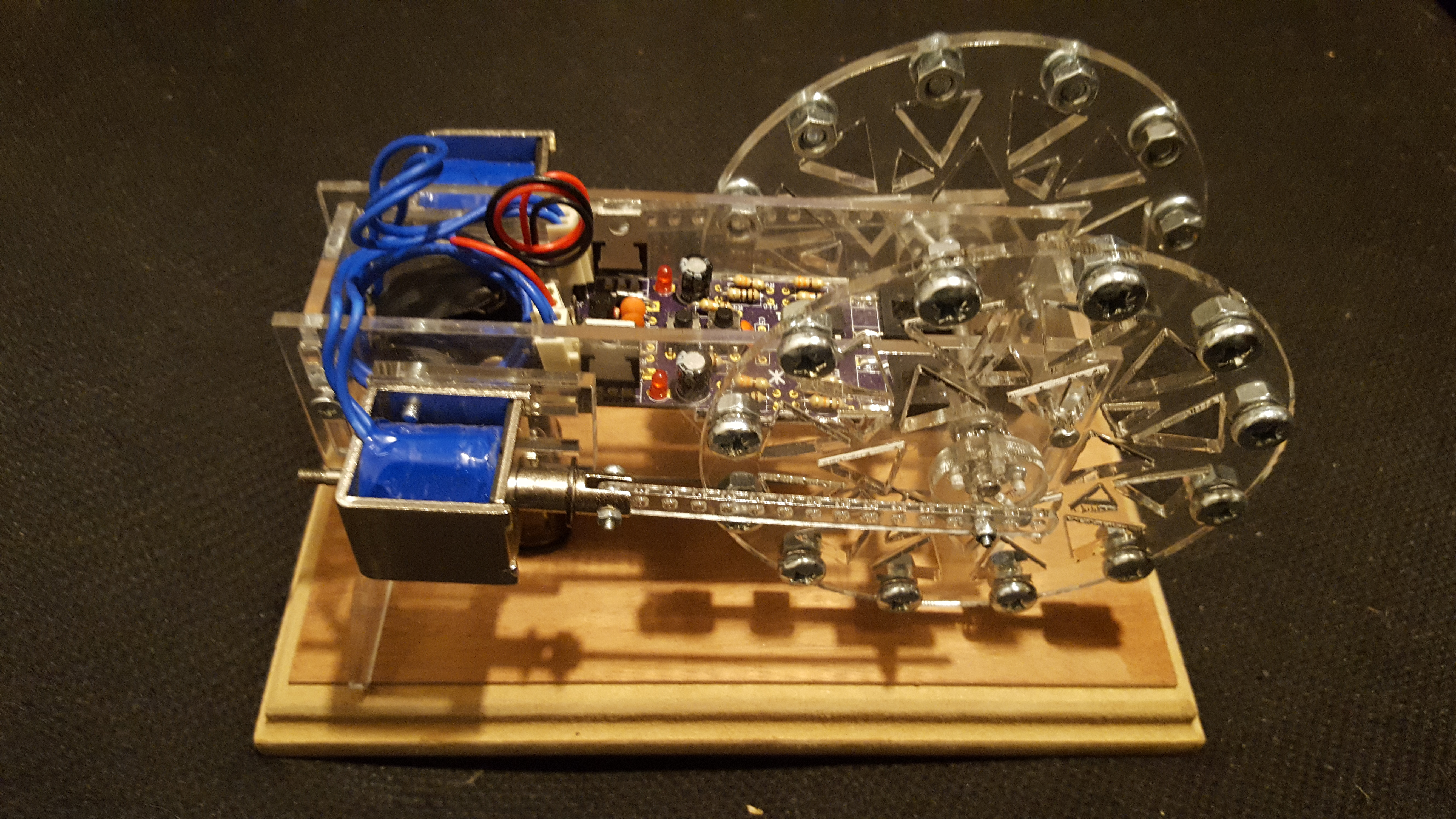 Solenoid Engine Twin Horizontal - More Power